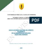 Sistema Credito UPCH