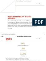 Guadalupe Valley Electric Cooperative - Power Reliability & Rate Options