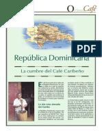Café en Republica Dominicana