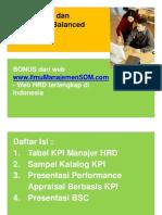 Template - Tabel KPI Dan BSC