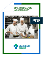 Food Safety Basics Booklet