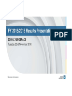 161122 - En - Zodiac Aerospace Fy 15-16 Results - Projection