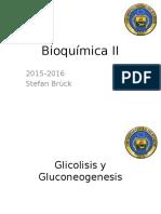 Bioquímica II - Clase 2 Glicolisis y Gluconeogenesis - Kopie