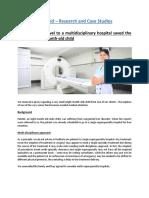 Our Advice to Travel to a Multidisciplinary Hospital - TreatAid Case Studies