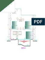 Arquitectura Vivienda Unifamiliar -Corte EE
