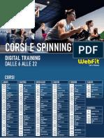 Digital Training Orari