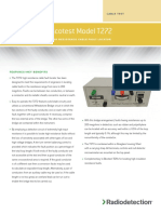 Bicotest Model T272 - High Resistance Cable Fault Locator