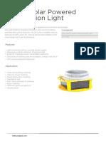 YSL32 Solar Powered Obstruction Light