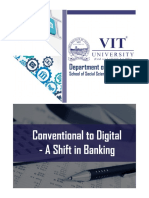 Conference Proceedings Conventional to Digital - A Shift in Banking A Two Day National Conference 21st and 22nd April, 2017
