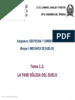 1 Mecanica Del Suelo 2. La Fase Solida Del Suelo