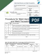 Q.c-me-UQ-09(Weld Identification and Weld Traceability Procedure)Re Write