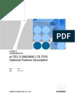 LTE FDD Optional Feature Description