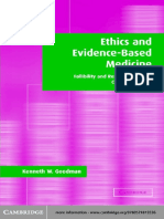 Ethics and Evidence-Based Medicine Fallibility and Res