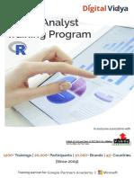 R Data Analyst DAR