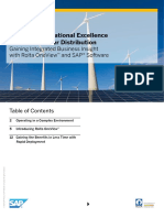 Achieving Operational Excellence in Electric Power Distribution with Rolta OneView and SAP software
