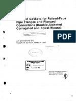 API 601 - Metallic Gaskets for Raised Face.pdf