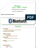 Cours Bluetooth JSR82 Android