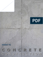 2010 Guide to Concrete Construction
