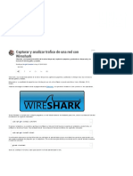 Wireshark-Capturar y Analizar Trafico de Una Red