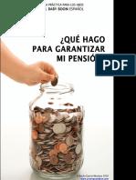 Guia Practica Para Los Hijos Del Baby Boom Espanol Que Hago Para Garantizar Mi Pension