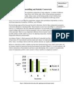 FE Modelling and Statistics CW Masoud Nouri