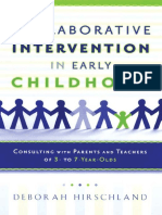 Collaborative Intervention in Early Childhood