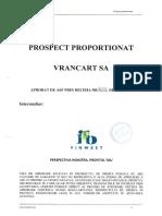 Prospect Vrancart Avizat