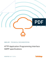 Infobip HTTP API and SMPP Specification