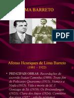 Lima Barreto 3anos