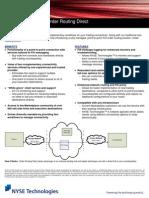 Order Routing Direct Factsheet