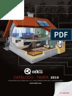 Catalogo Tarifa 2010