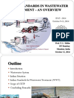 Indian Standards in Wastewater Treatment an Overview