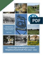 The Hackbridge and Beddington Corner Neighbourhood Development Plan (Final draft)