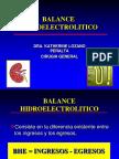 Balance Hidroelectrolítico - Dra. Lozano