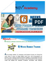 Summer internship training institute in patna:-SMV Academy