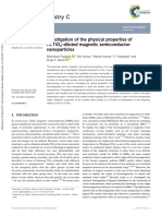 Investigation of the Physical Properties of Fe_TiO2-Diluted Magnetic Semiconductor Nanoparticles