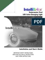 Pentair Intellibrite 5g Color Led Pool Installation Manual