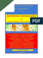 Judeţele României, Vol. I, Caracteristici fizico-geografice (coord. I. Mărculeț).pdf