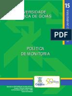 Politica Monitoria Livreto PUC