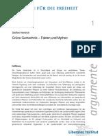 Grüne Gentechnik - Fakten und Mythen