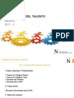 DESARROLLO DEL TALENTO