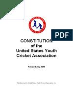 USYCA Constitution