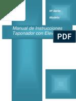 Manual Taponador Con Elevador