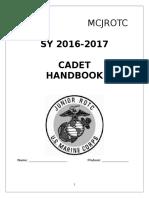 jrotc cadet jcp 2016-2017-handbook