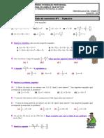 Ficha Equações - EFA B3