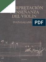 Interpretación y Enseñanza del Violín - Ivan Galamian.pdf