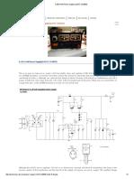 0-28V 6-8A Power Supply (LM317, 2N3055)
