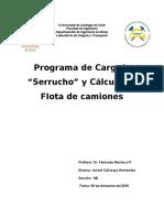Programa de Carguio y Flota de Camiones