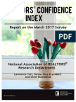REALTORS® Confidence Index March 2017