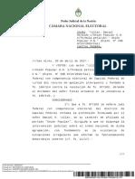 La Cámara Nacional Electoral promueve la igualdad de género hacia el interior de los partidos políticos
